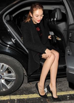 Olga Kurylenko - Dolce & Gabbana Christmas Tree Party in London