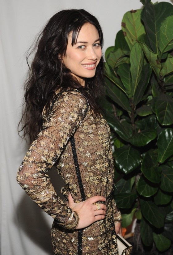 Olga Kurylenko - Dom Perignon & W Magazine Celebrate The Golden Globes in Los Angeles, January 11, 2013