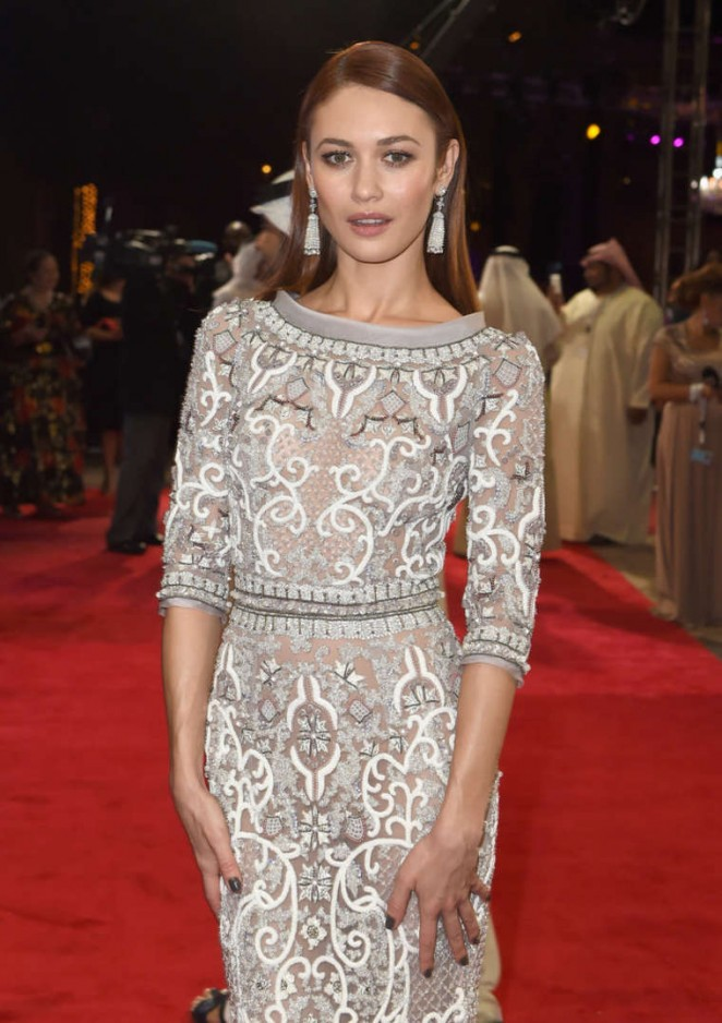 Olga Kurylenko - Opening Night Gala 11th Annual Dubai International Film Festival