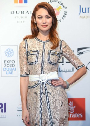 Olga Kurylenko - Screening of 'The Water Diviner' at 11th Dubai International Film Festival