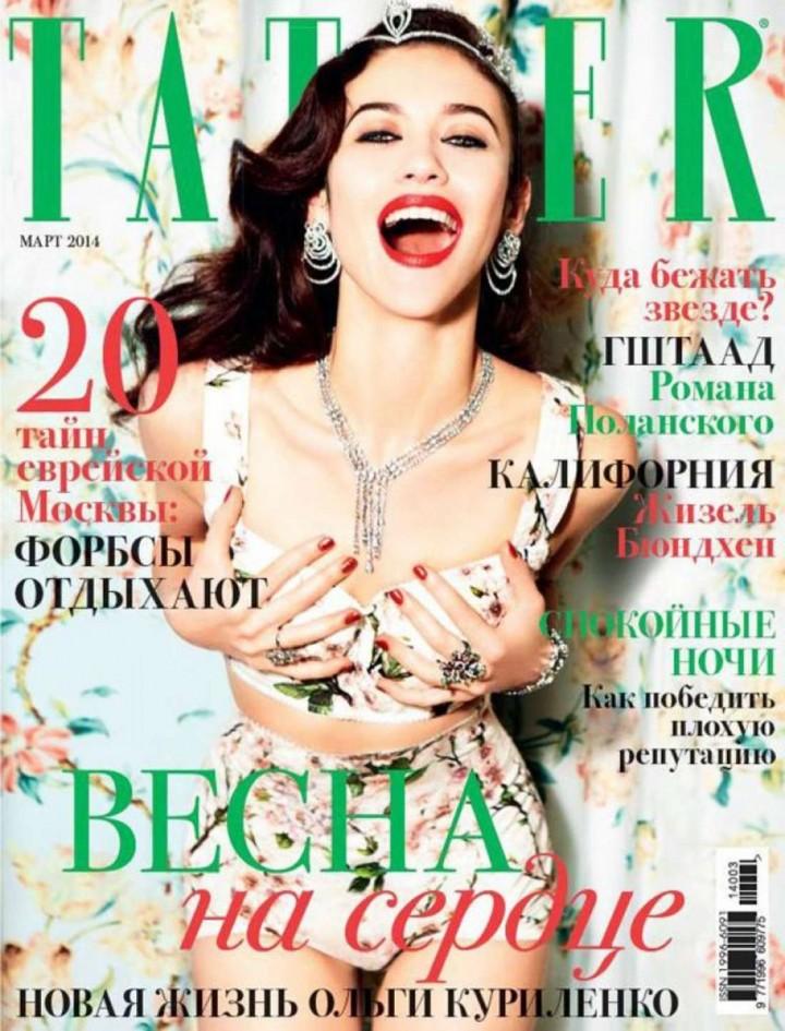 Olga Kurylenko: Tatler Russia -05