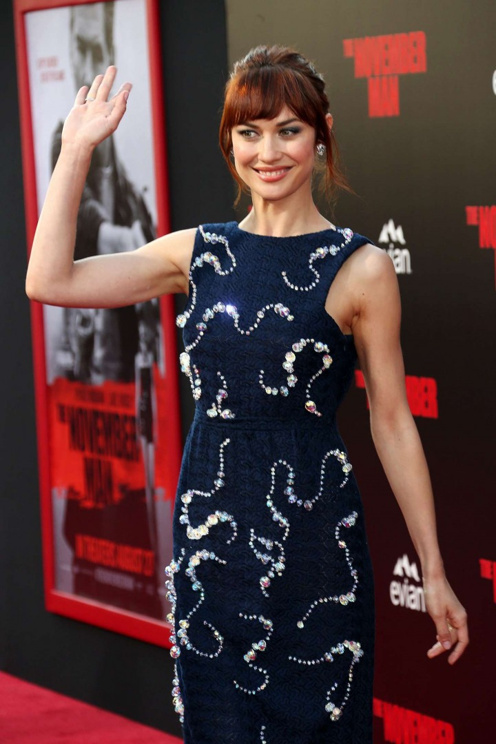 """Olga Kurylenko - """"The November Man"""" Premiere in Los Angeles"""