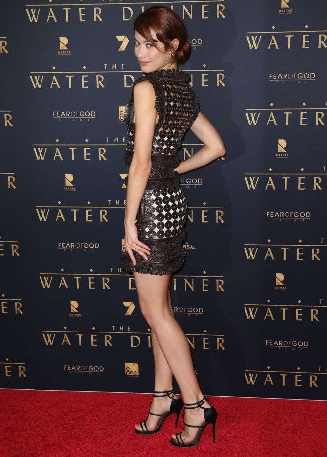 "Olga Kurylenko - ""The Water Diviner"" Premiere in Melbourne"