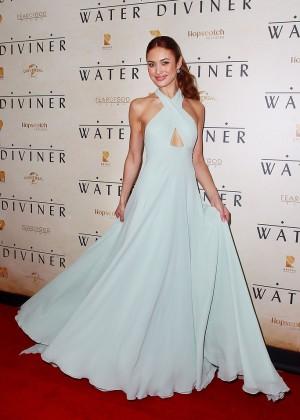 Olga Kurylenko - 'The Water Diviner' Premiere in Sydney
