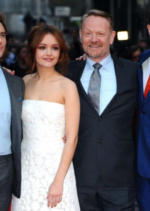 Olivia Cooke: The Quiet Ones UK Premiere -06