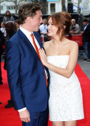 Olivia Cooke: The Quiet Ones UK Premiere -08
