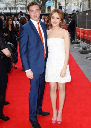 Olivia Cooke: The Quiet Ones UK Premiere -17