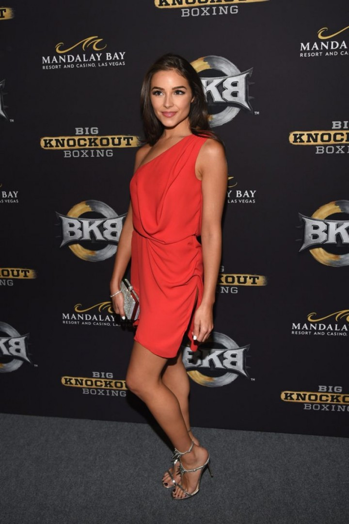 Olivia Culpo - Big Knockout Boxing Inaugural Event in Vegas
