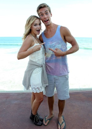 Olivia Holt - Austin North's 18th Birthday Bash in Malibu