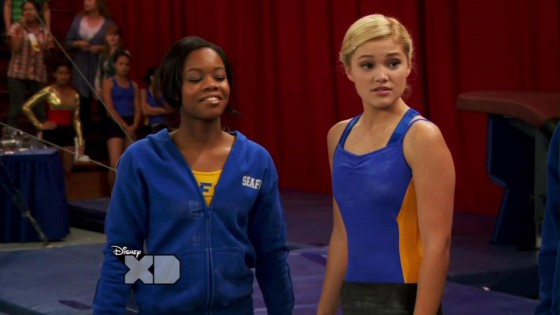 Olivia Holt Pictures: Kickin It caps -01