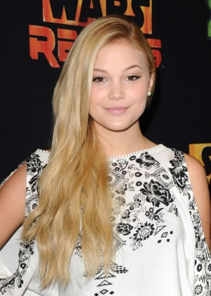 "Olivia Holt - ""Star Wars Rebels"" Premiere in Century City"