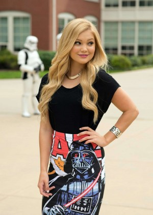 "Olivia Holt - ""Star Wars Rebels"" Event in San Francisco"