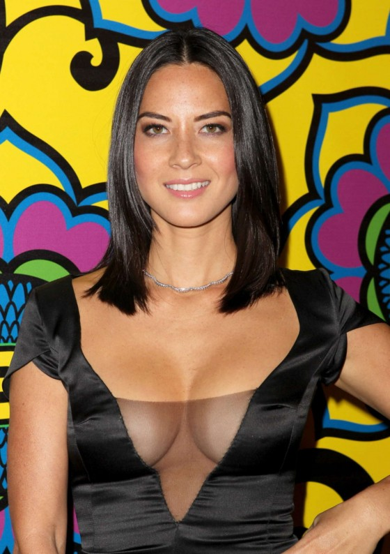 Olivia Munn - 2012 HBO Emmy after party in West Hollywood