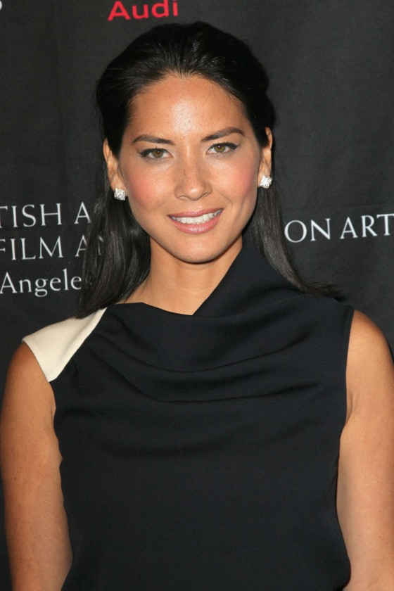 Olivia Munn at BAFTA 2013 Awards Season Tea Party in Los Angeles