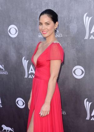 Olivia Munn: 2014 Academy of Country Music Awards -07