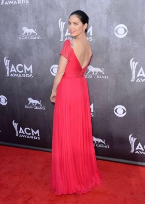 Olivia Munn: 2014 Academy of Country Music Awards -08