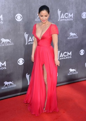 Olivia Munn: 2014 Academy of Country Music Awards -09