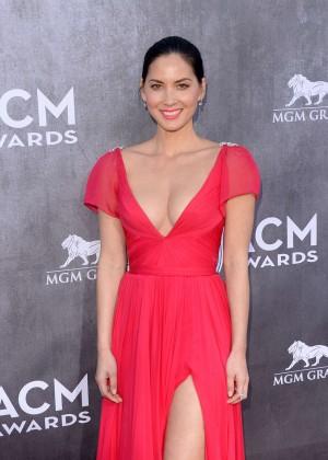 Olivia Munn: 2014 Academy of Country Music Awards -10