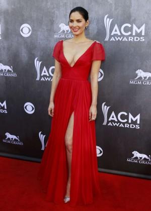 Olivia Munn: 2014 Academy of Country Music Awards -11