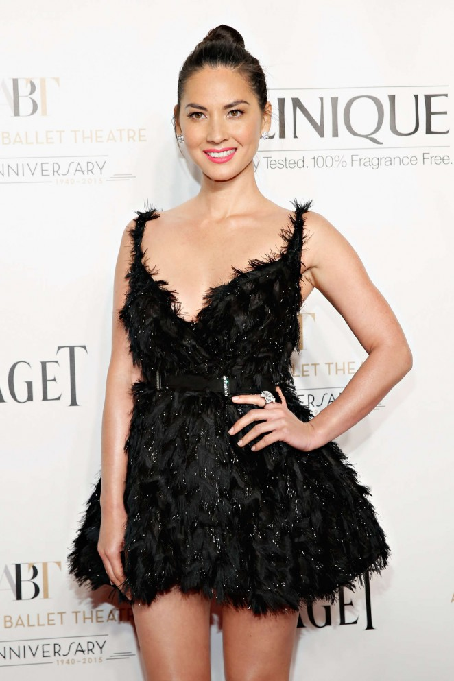 Olivia Munn - American Ballet Theatre 2014 Opening Night Fall Gala in NY