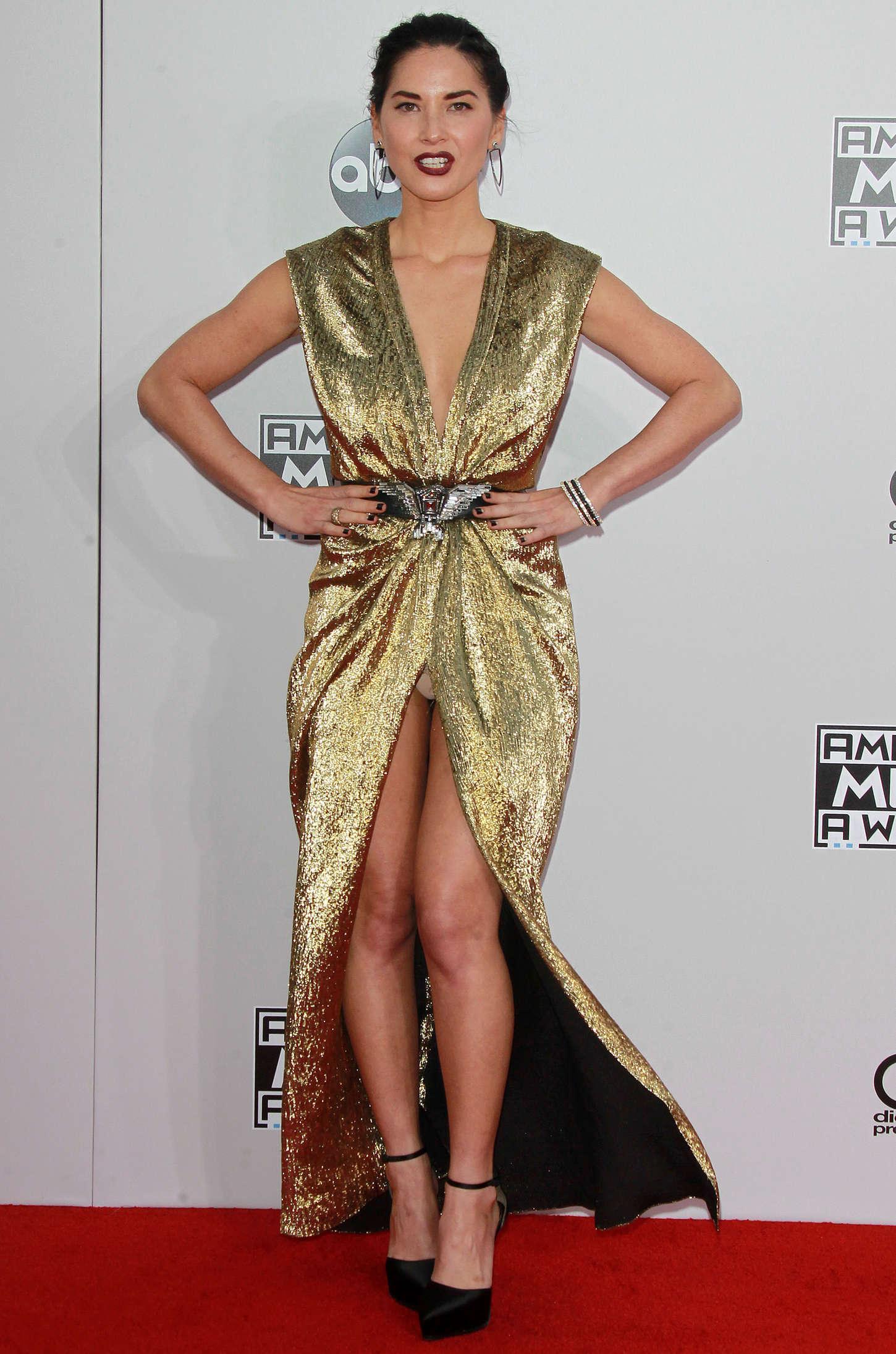 Olivia Munn - 2014 American Music Awards in LA