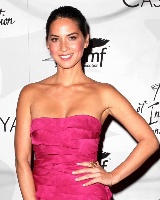 Olivia Munn cleavage candids at Innovation And Inspiration Gala