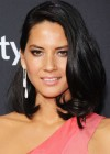 Olivia Munn in dress at NFL Honors 2013 -06