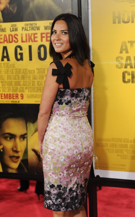 Olivia Munn 2011 : Olivia Munn at The Contagion Premiere-11