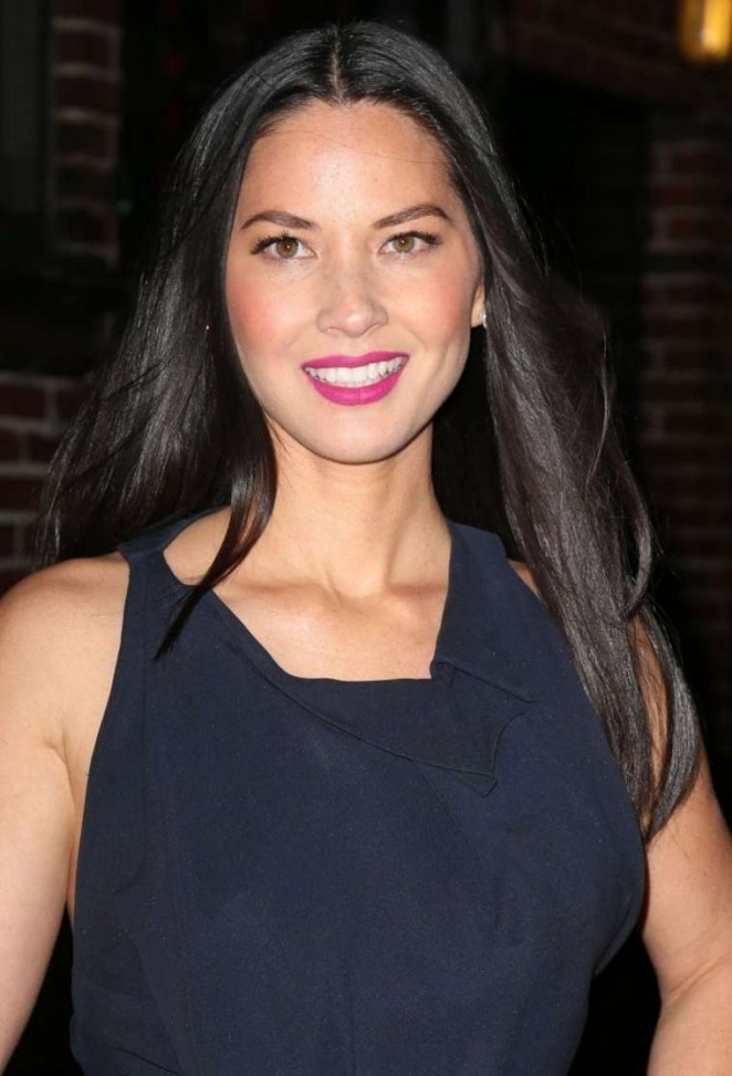 Olivia Munn: Late Show with David Letterman -08