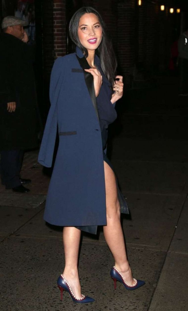 Olivia Munn: Late Show with David Letterman -09