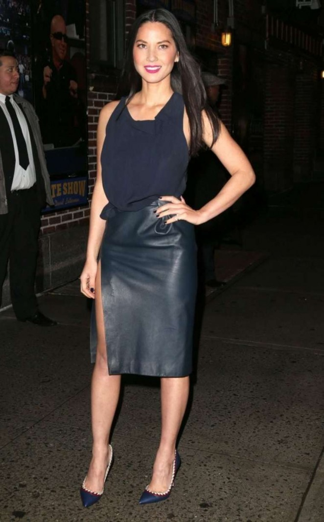 Olivia Munn: Late Show with David Letterman -10
