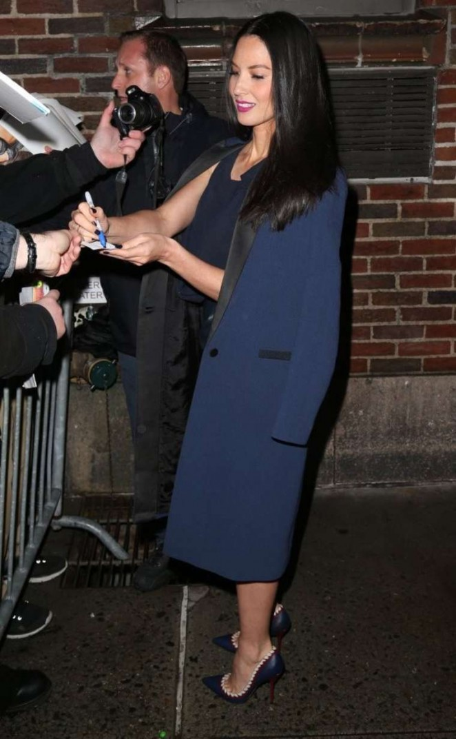 Olivia Munn: Late Show with David Letterman -11