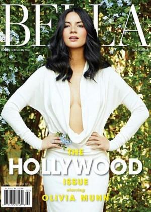 Olivia Munn - BELLA Magazine Cover (January/February 2015)