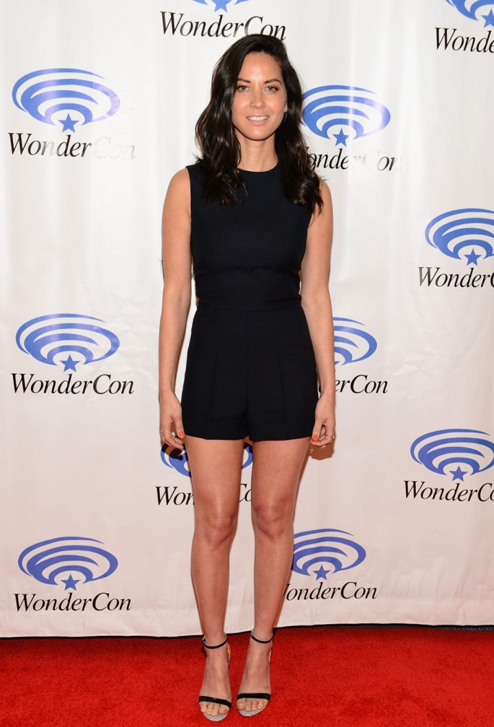 Olivia Munn: 2014 WonderCon -16