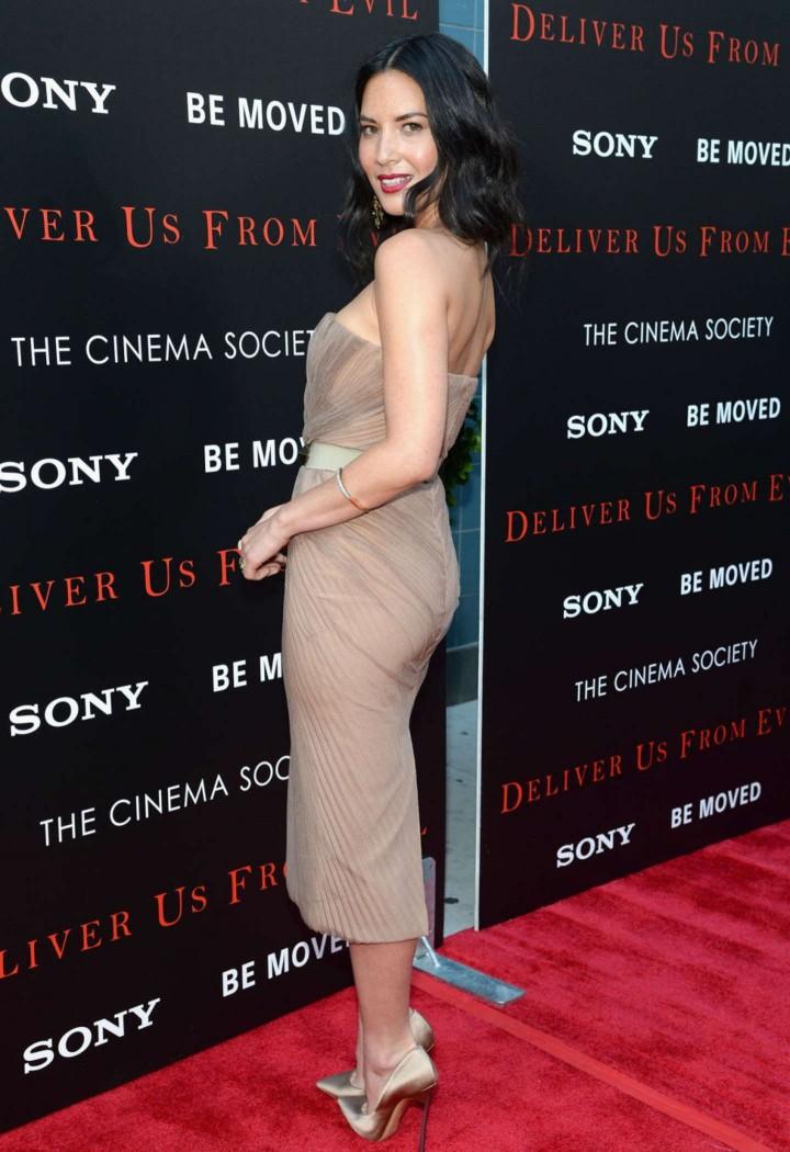 Olivia Munn: Deliver Us From Evil Screening -02