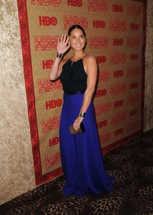 Olivia Munn: 2014 Golden Globe Awards -02