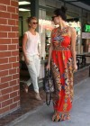 Olivia Munn and Julianne Hough at a nail salon in Beverly Hills -14