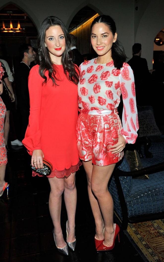 Olivia Munn: MAC and Vogue Celebrate Giambattista Valli -02