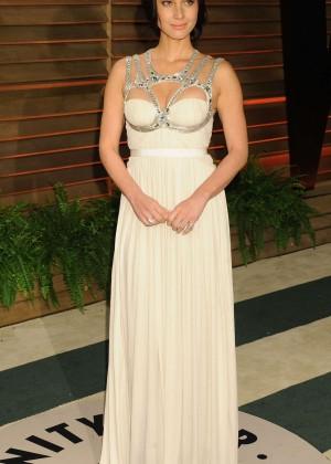 Olivia Munn: Oscar 2014 - Vanity Fair Party -02