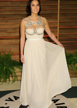 Olivia Munn: Oscar 2014 - Vanity Fair Party -12