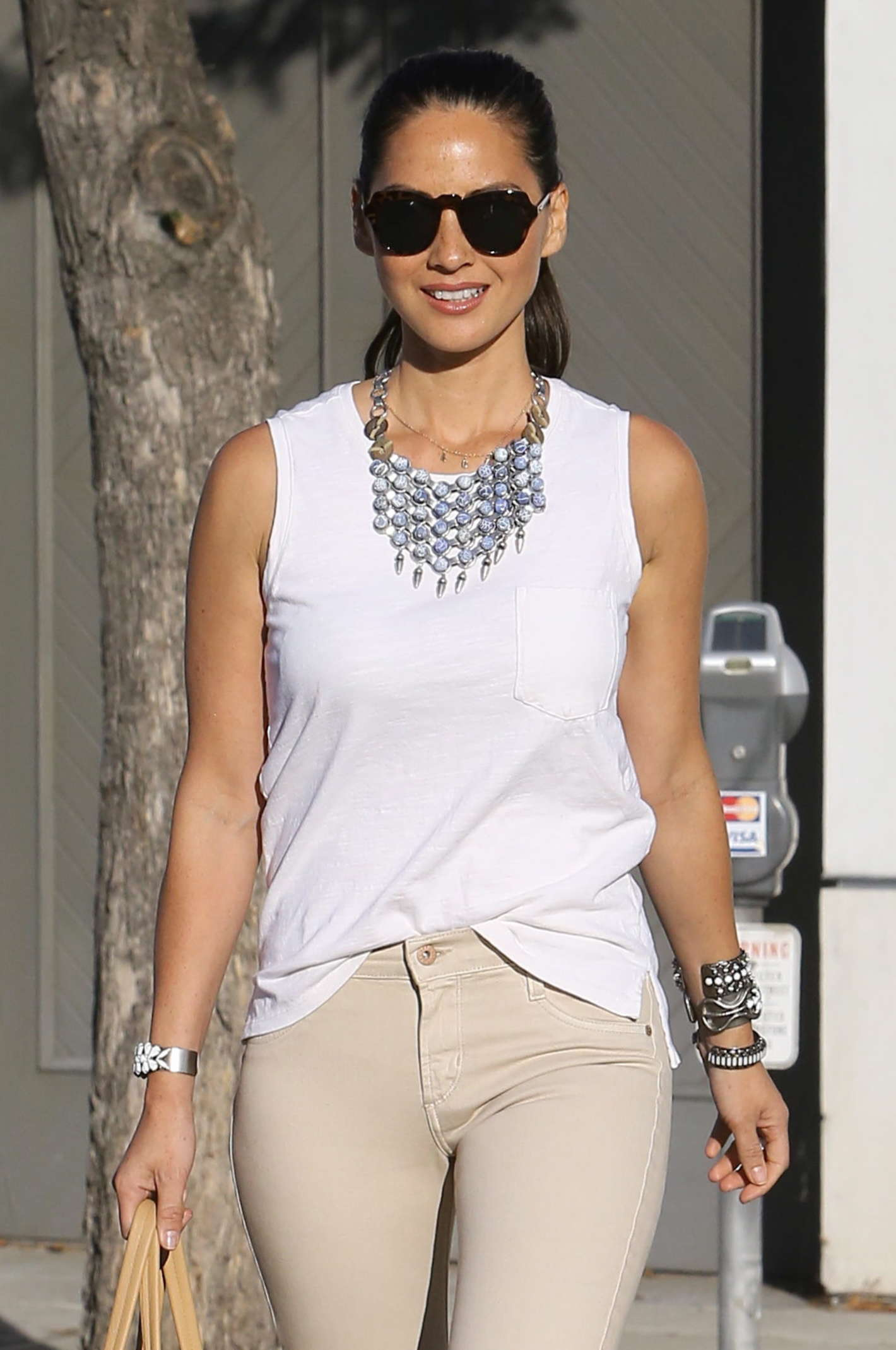 Olivia Munn - Out in Beverly Hills