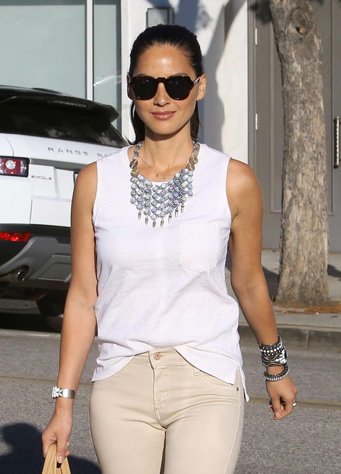 Olivia Munn 2014 : Olivia Munn – out in Beverly Hills -12