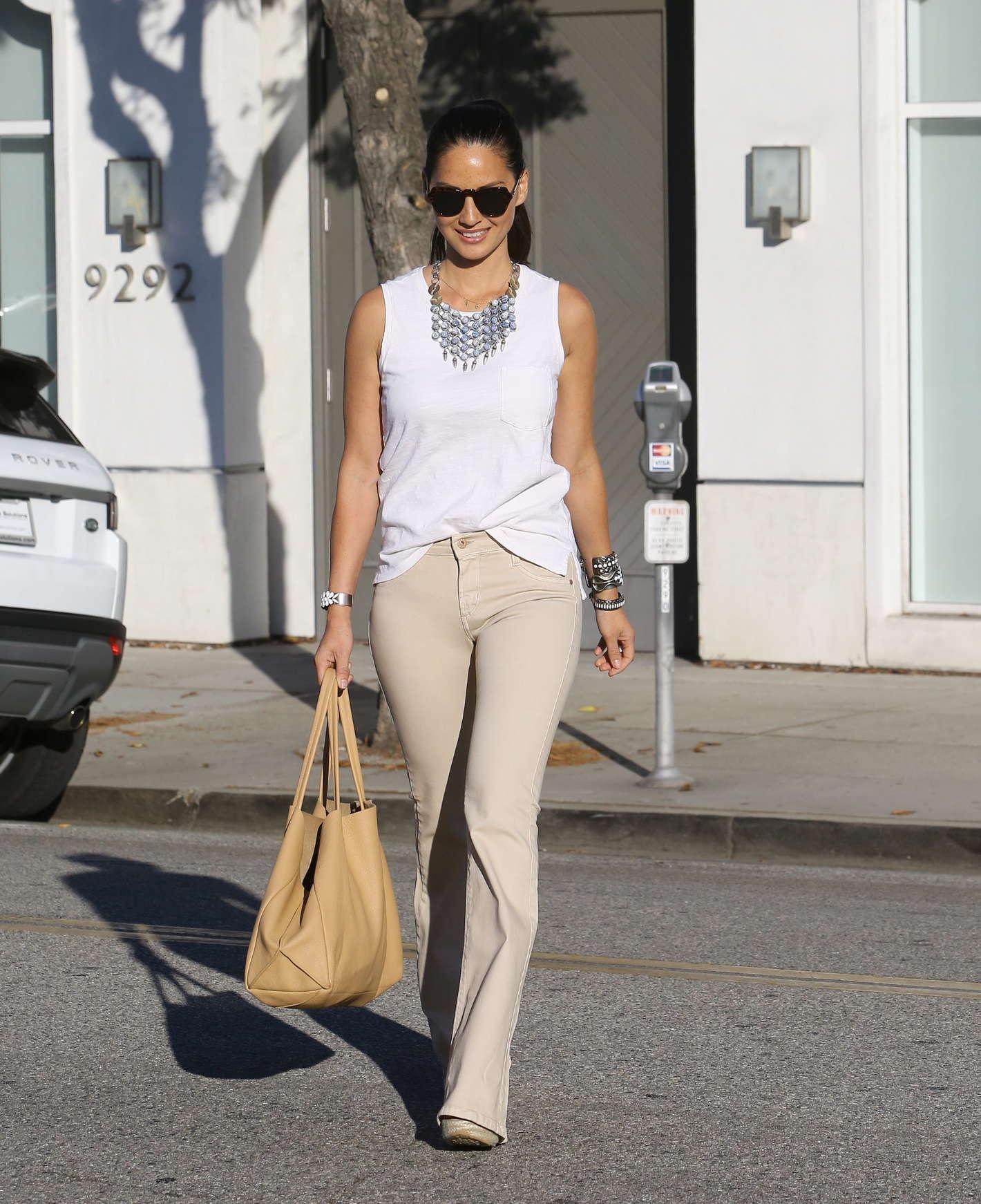 Olivia Munn 2014 : Olivia Munn – out in Beverly Hills -16