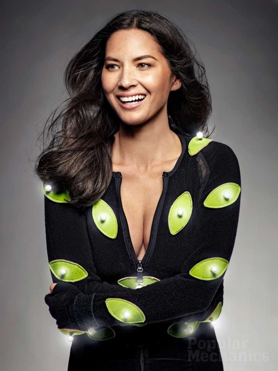 Olivia Munn - Popular Mechanics Magazine (February 2015)