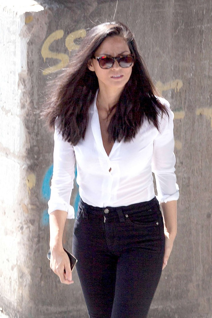 Olivia Munn: Ride Along 2 Set photos-06