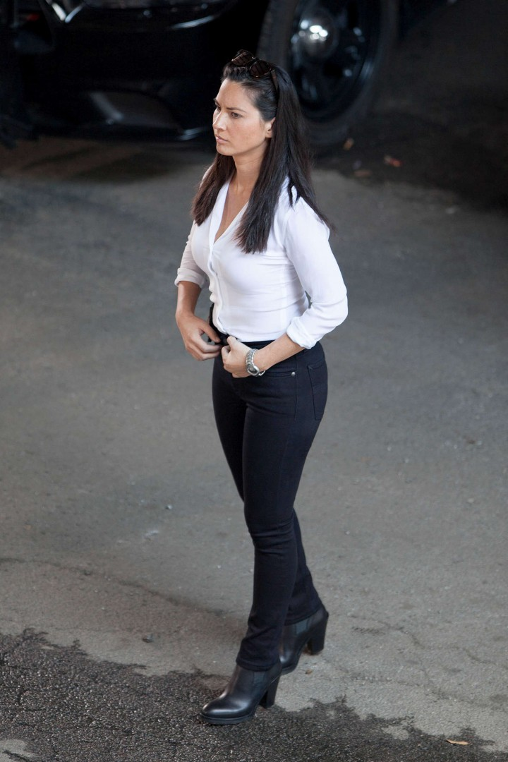 Olivia Munn: Ride Along 2 Set photos-10