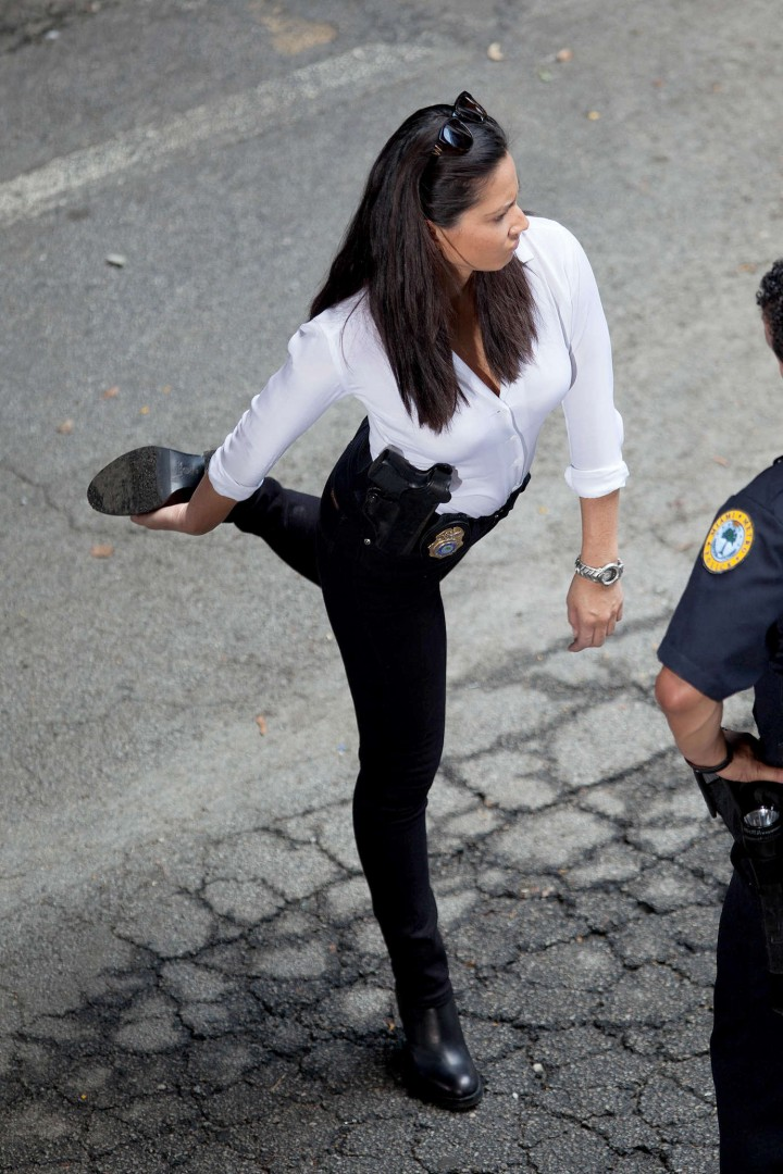 Olivia Munn: Ride Along 2 Set photos-17