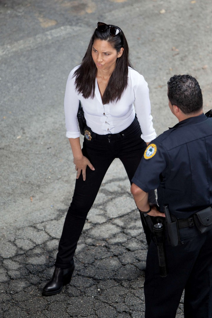 Olivia Munn: Ride Along 2 Set photos-19