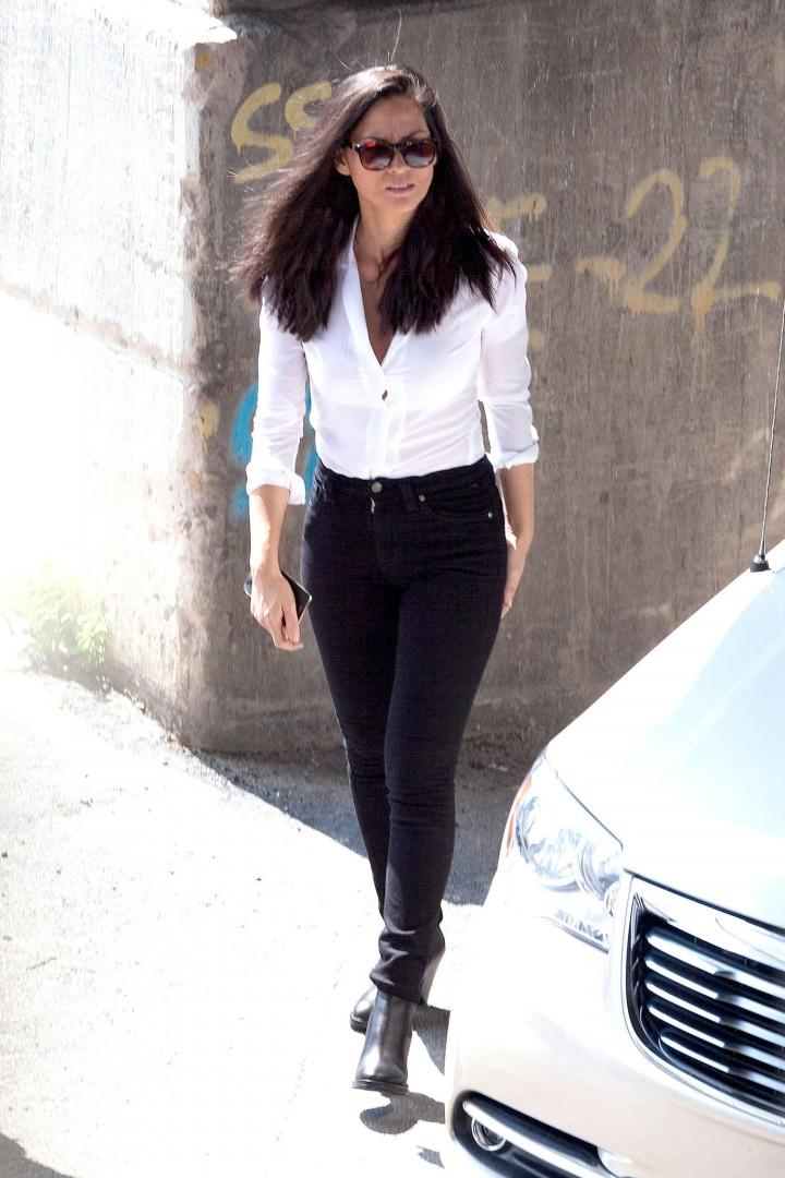 Olivia Munn: Ride Along 2 Set photos-23