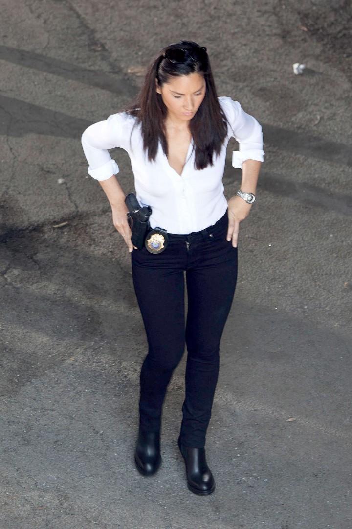Olivia Munn: Ride Along 2 Set photos-26